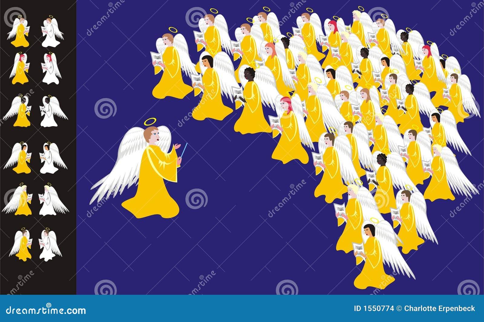 Refrein van engelen
