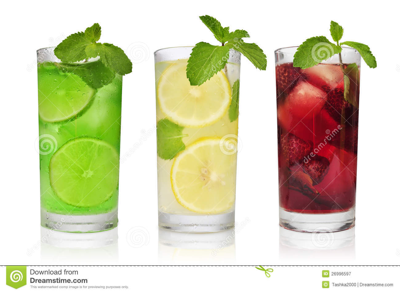 Refreshment Drinks Stock Image Image Of Background Lime