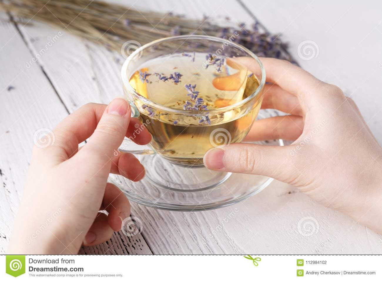 Refreshment and relax with herbal tea