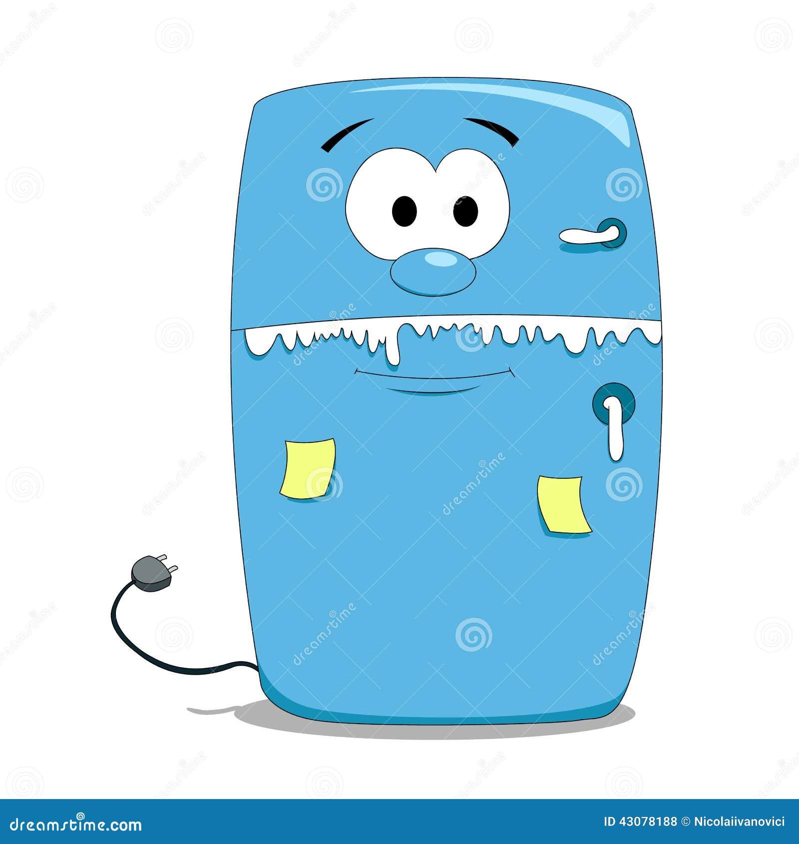 Refrigerador de la historieta