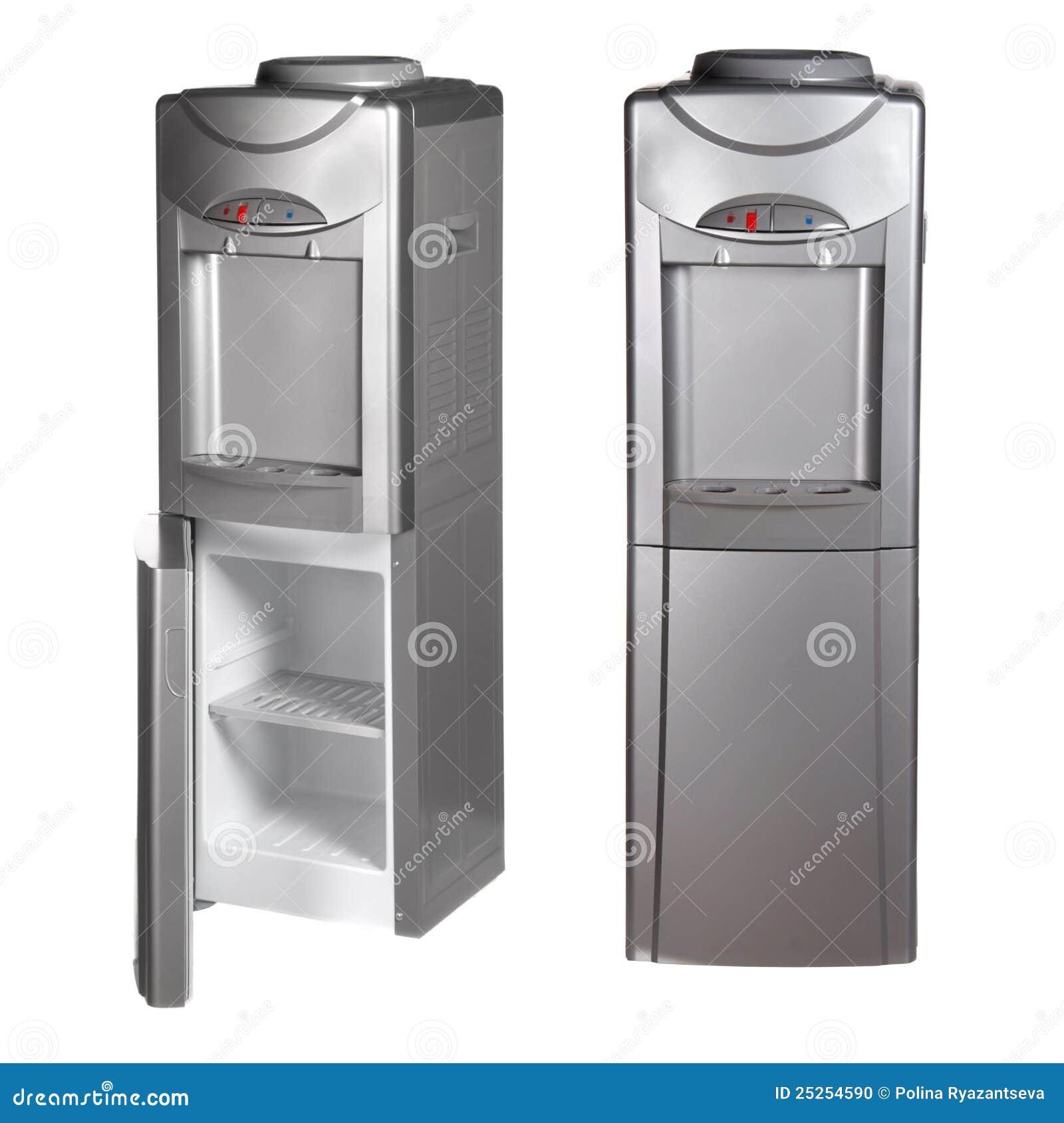 Refrigerador met lico con el dispensador del agua foto de for Dispensador agua oficina