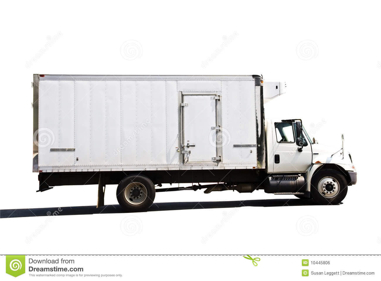 Refrigerated Delivery Truck Royalty Free Stock Image