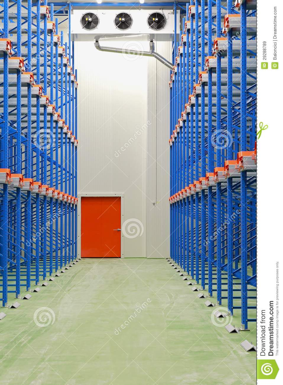 Refrigerated Warehouse Royalty Free Stock Images Image