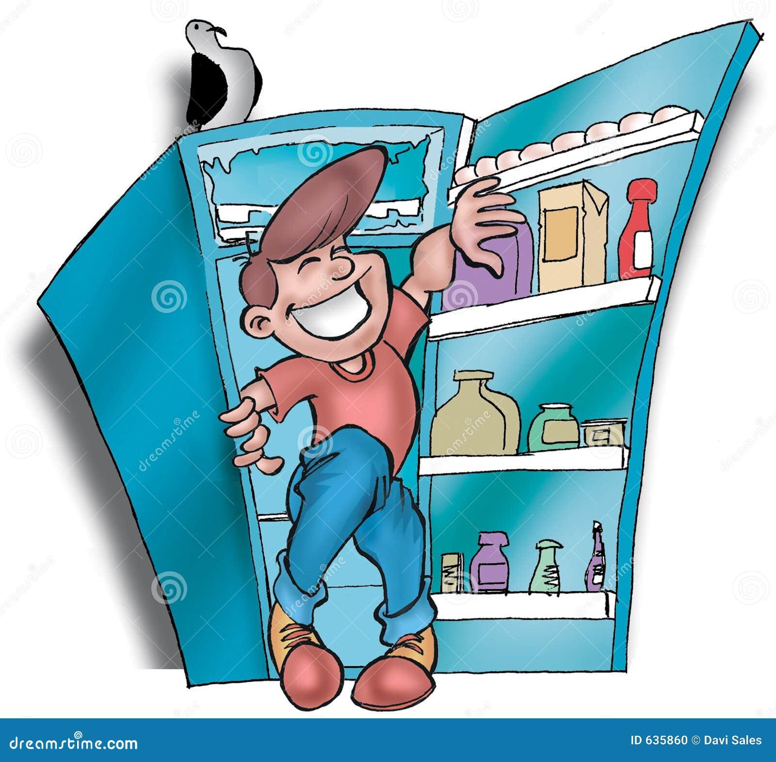 Download Refrigerator02 иллюстрация штока. иллюстрации насчитывающей бобра - 635860