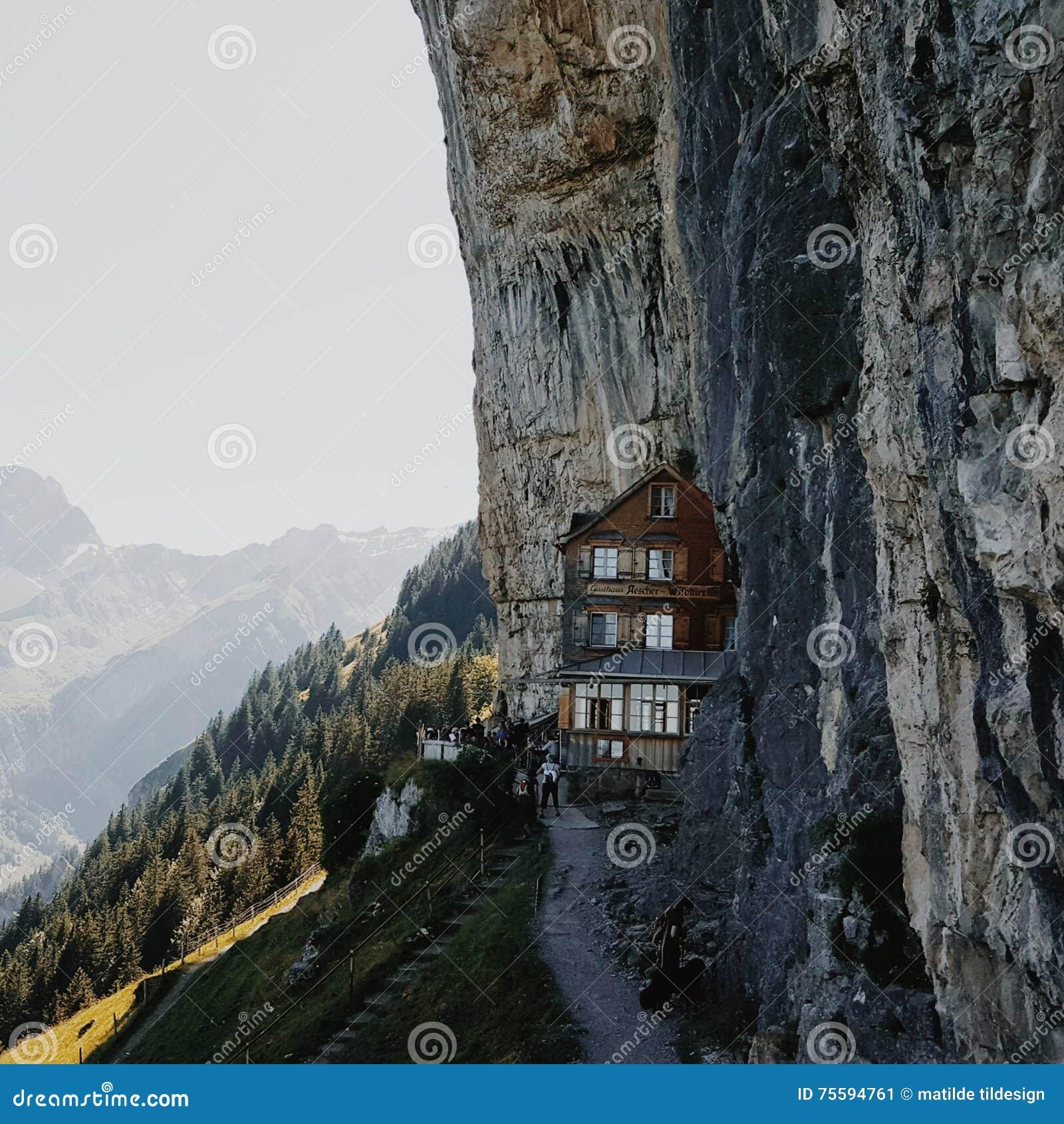 Refuge d Aescher en Suisse