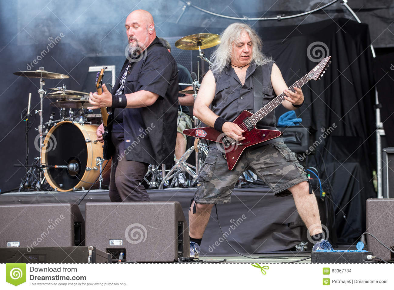 Refuge at Metalfest 2015 editorial stock image  Image of