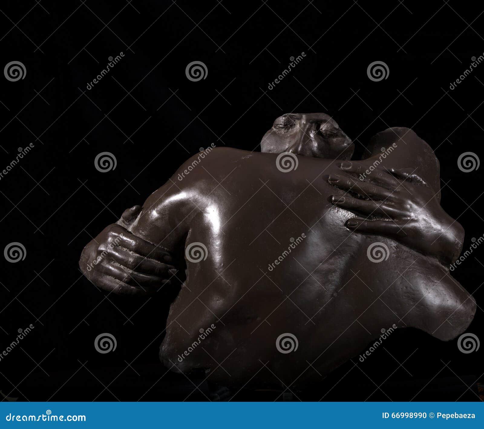 Refugees sculpture