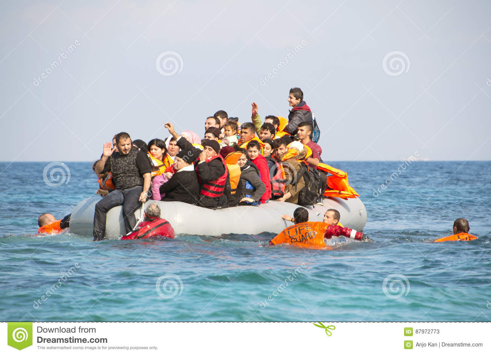 bote en bote africano