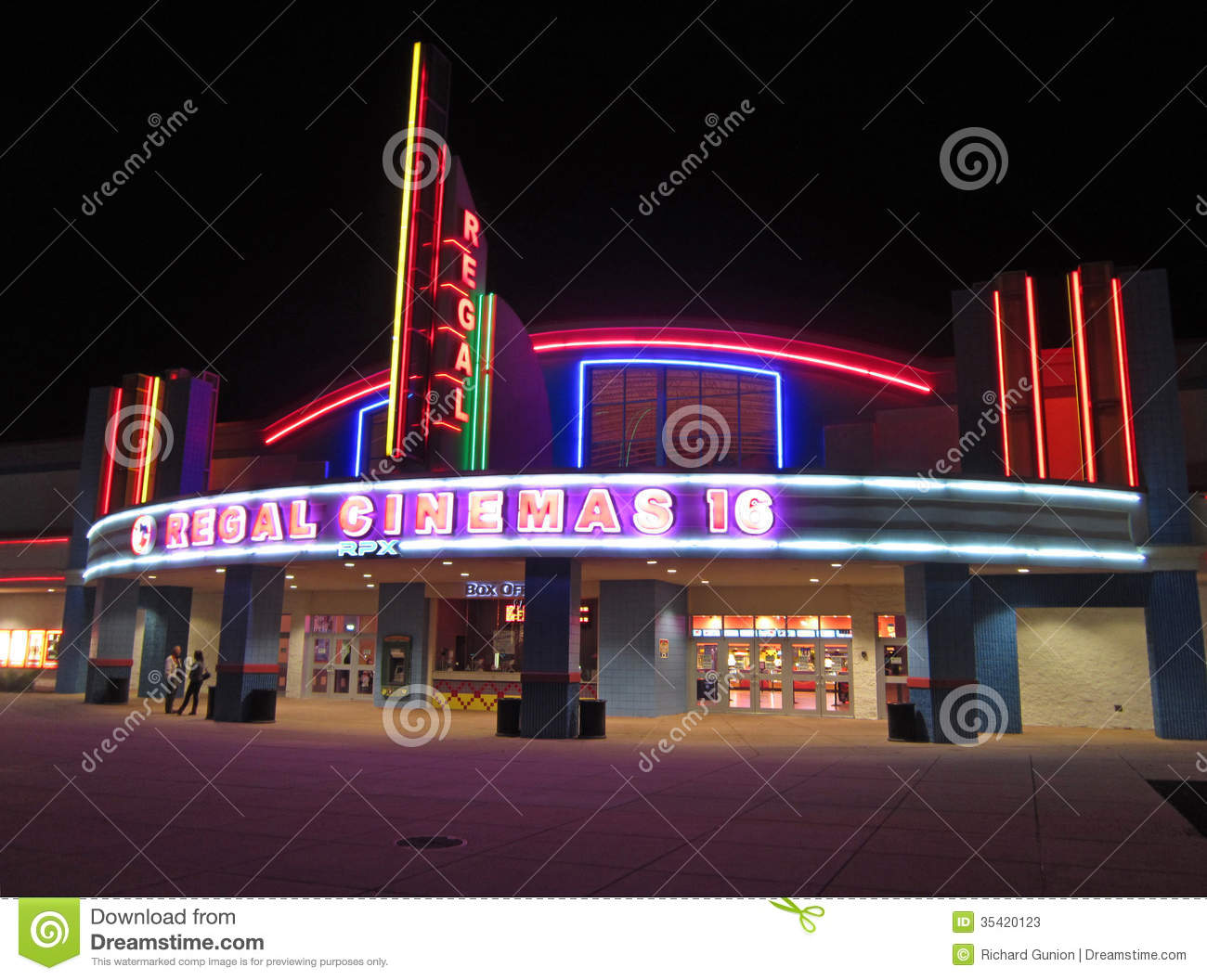 regal cinema in salisbury maryland editorial stock photo
