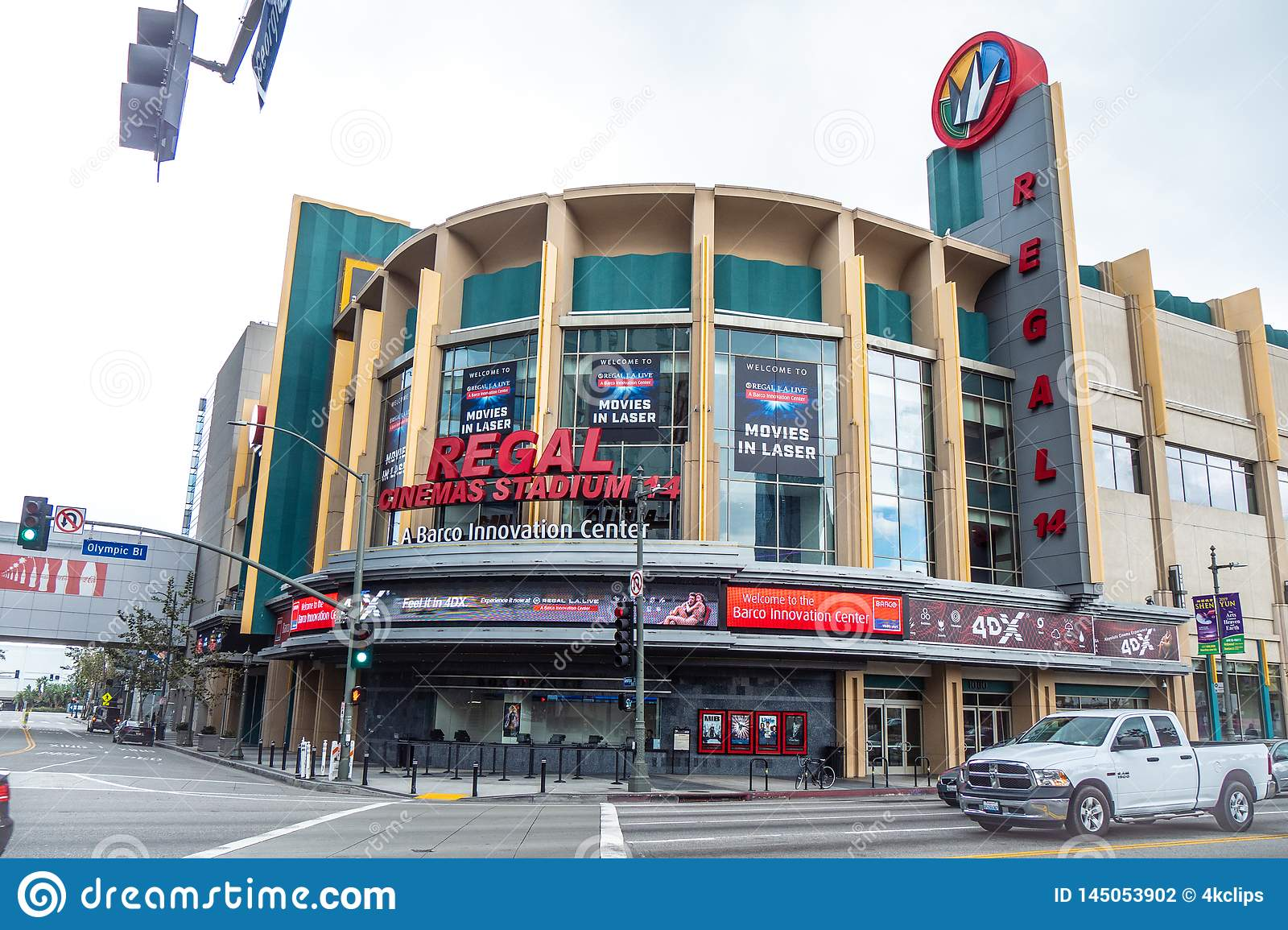 Regal Cinemas Stadium At Los Angeles Downtown - CALIFORNIA, USA