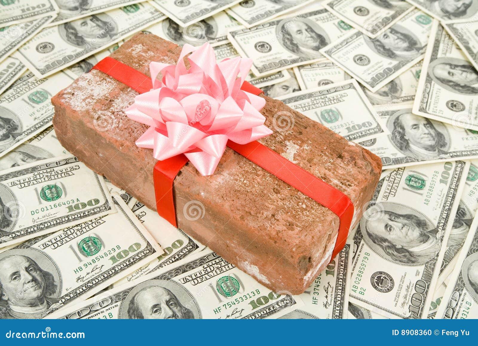 Regalo e dollari di burla