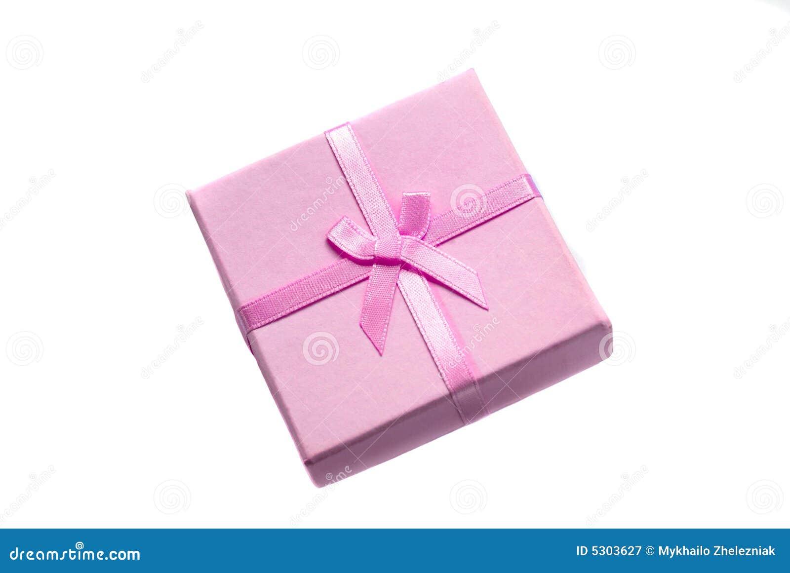 Download Regalo Isolato Su Priorità Bassa Bianca Immagine Stock - Immagine di premio, bianco: 5303627