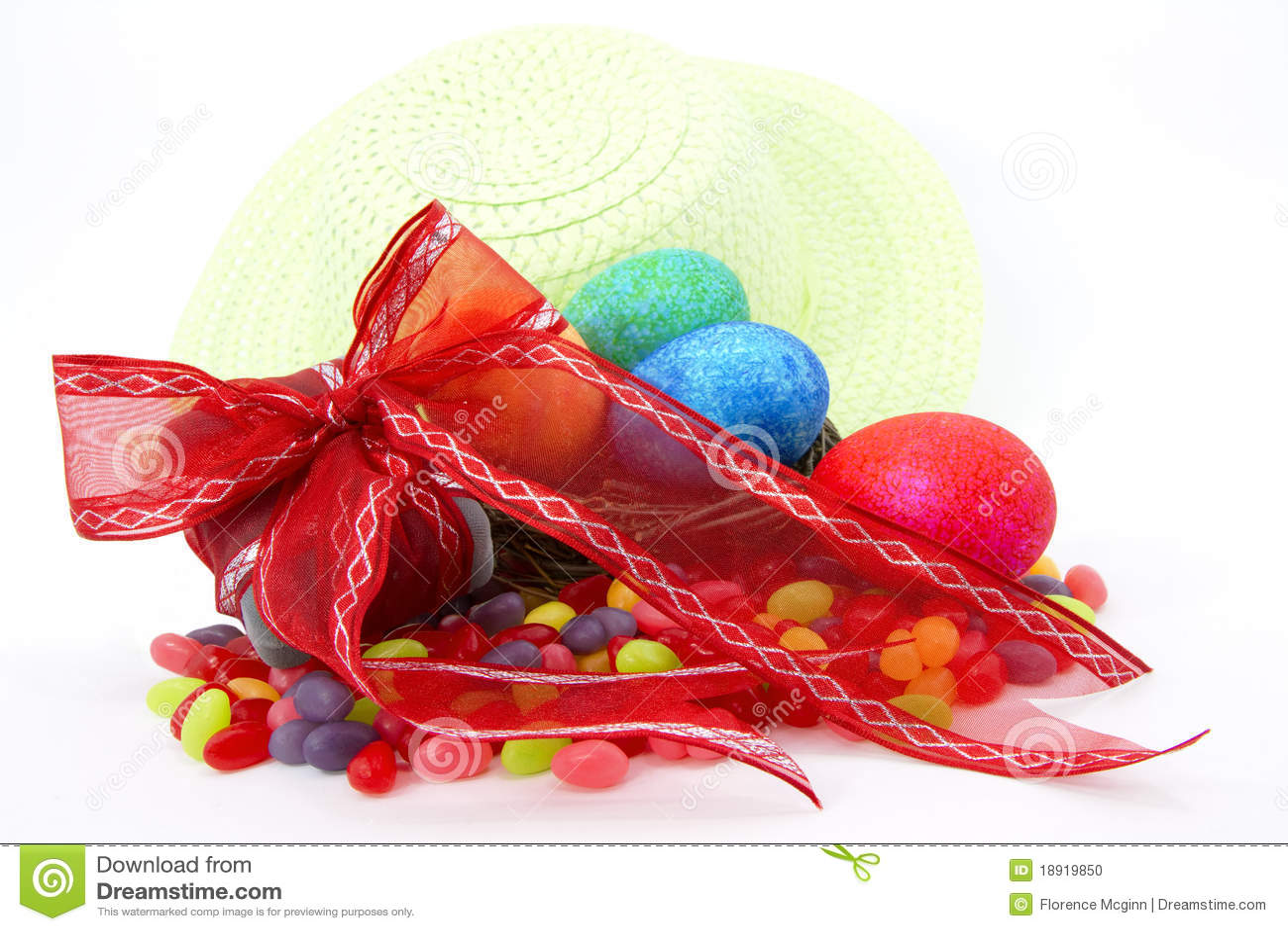 Regalo, Jellybeans, huevos, y capo de Pascua