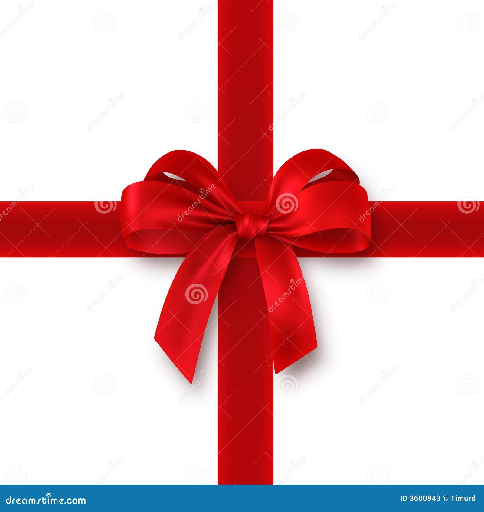 Regalo rojo cinta arqueamiento fotos de archivo imagen - Cinta para regalo ...