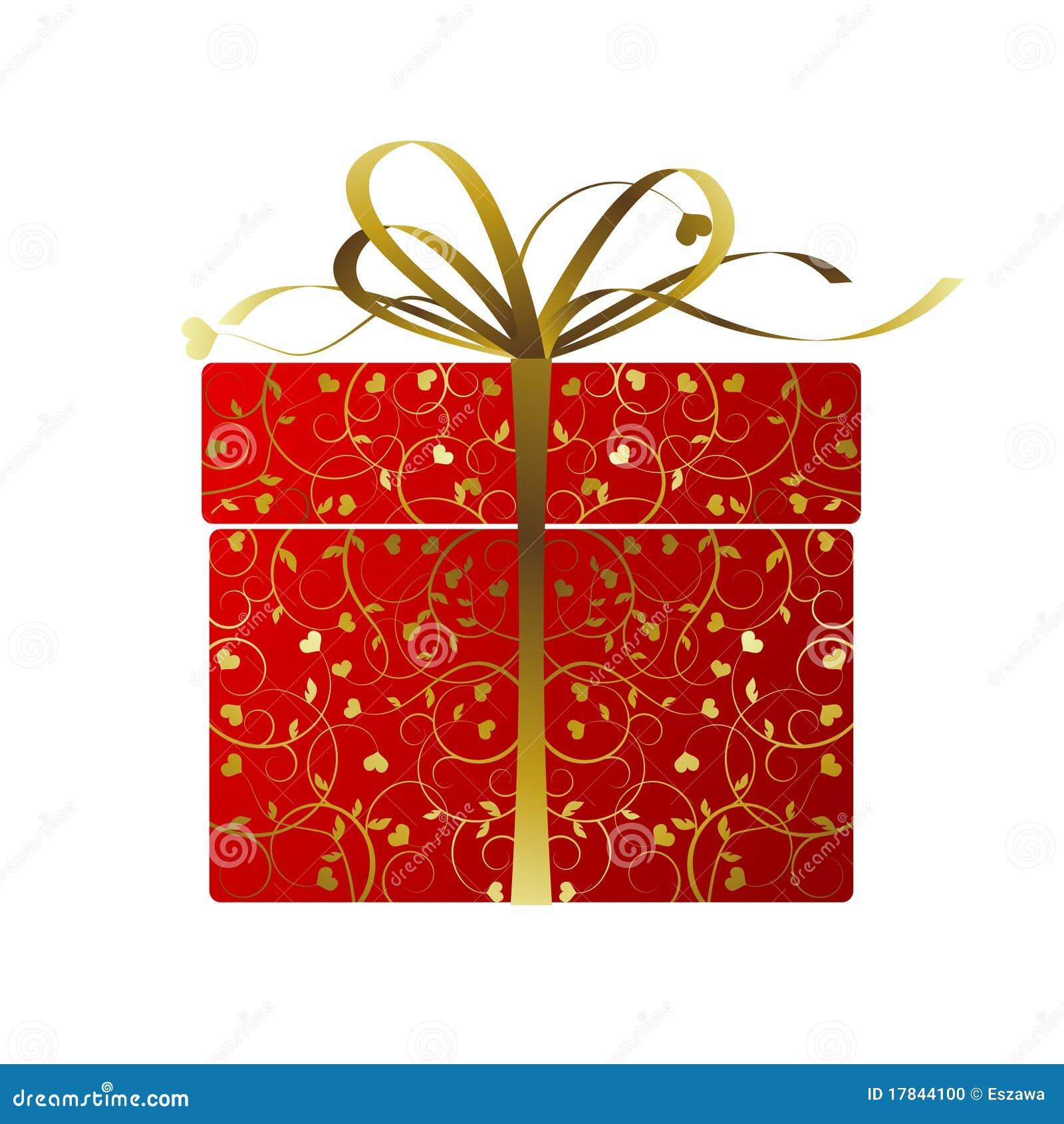 Regalo stilizzato illustrazione vettoriale immagine di for Immagini di pacchetti regalo