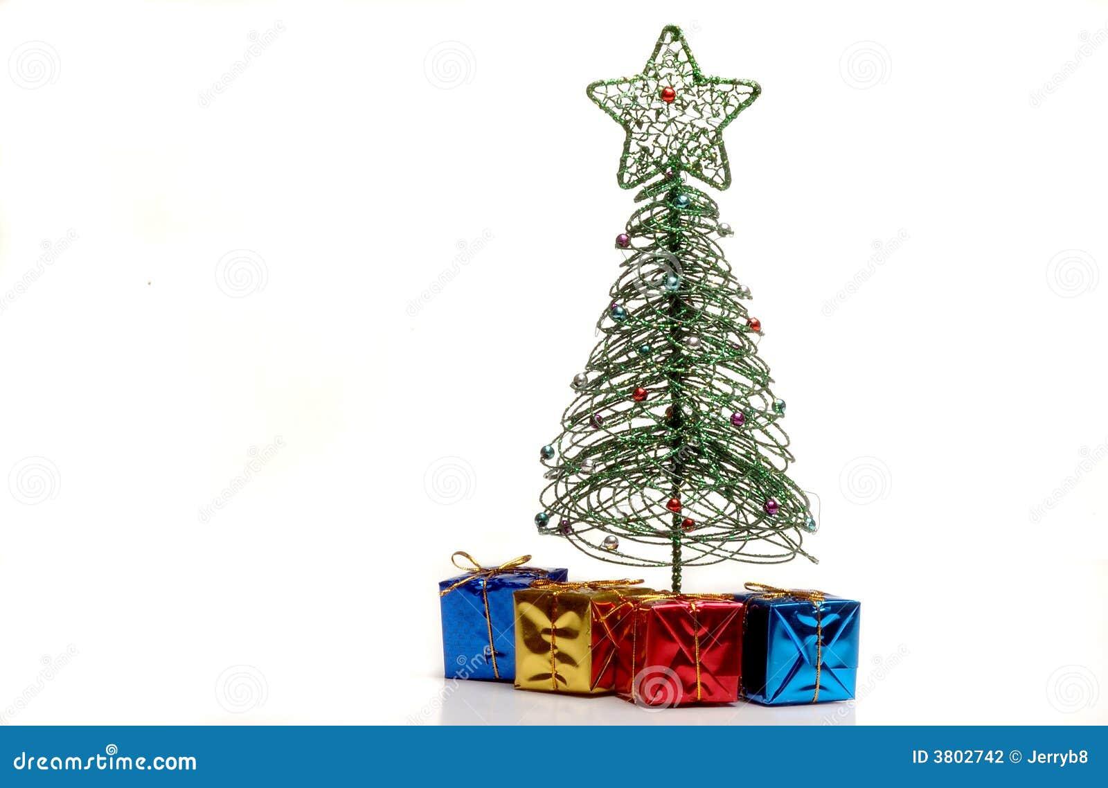 Regalos bajo el rbol de navidad foto de archivo imagen for Arbol de navidad mural