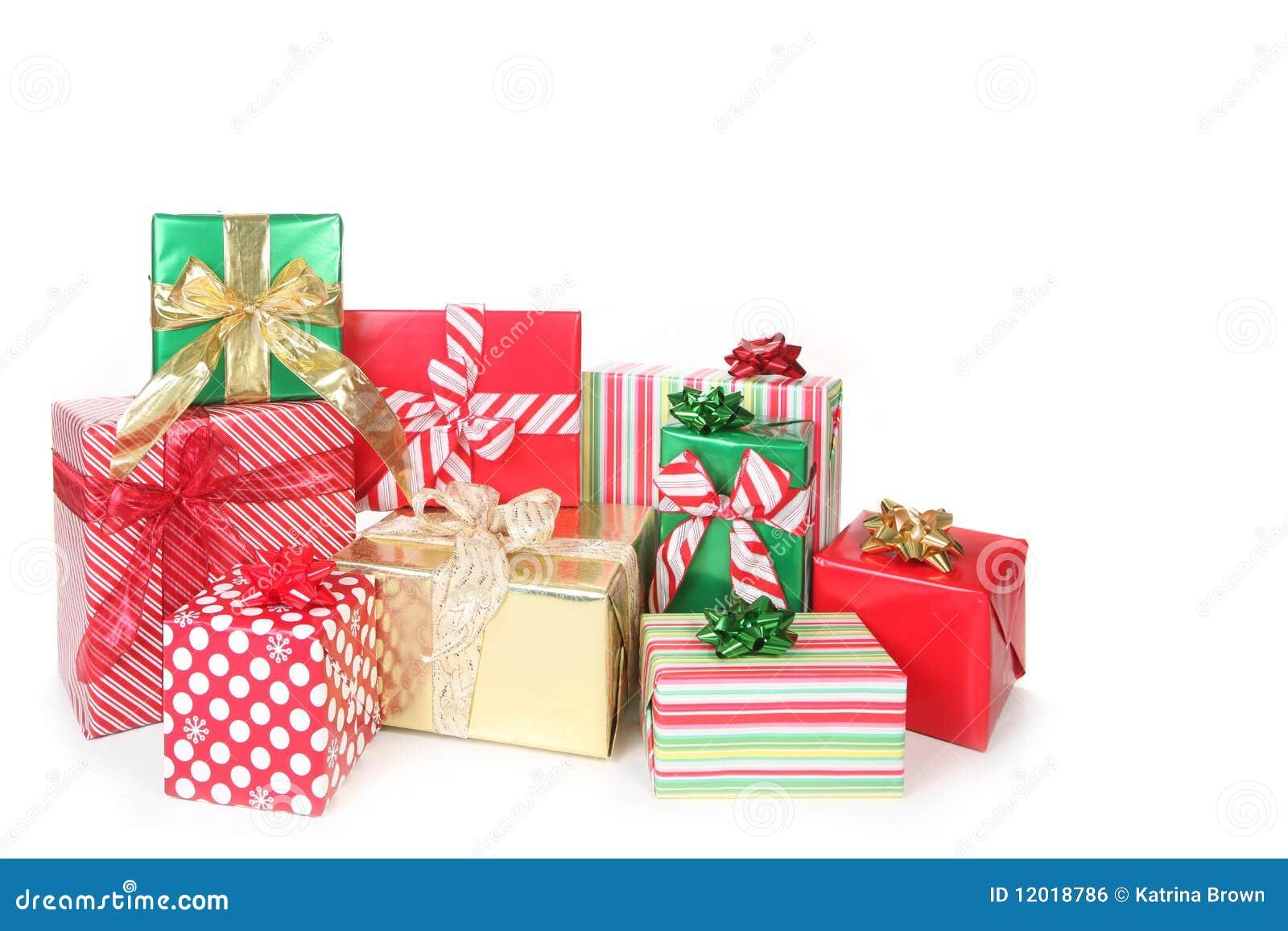 Regalos bonitos de la navidad envueltos para arriba en - Regalos bonitos para navidad ...