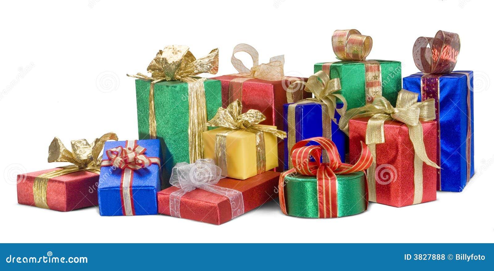 Regalos de navidad fotos de archivo libres de regal as - Regalos para ella navidad ...