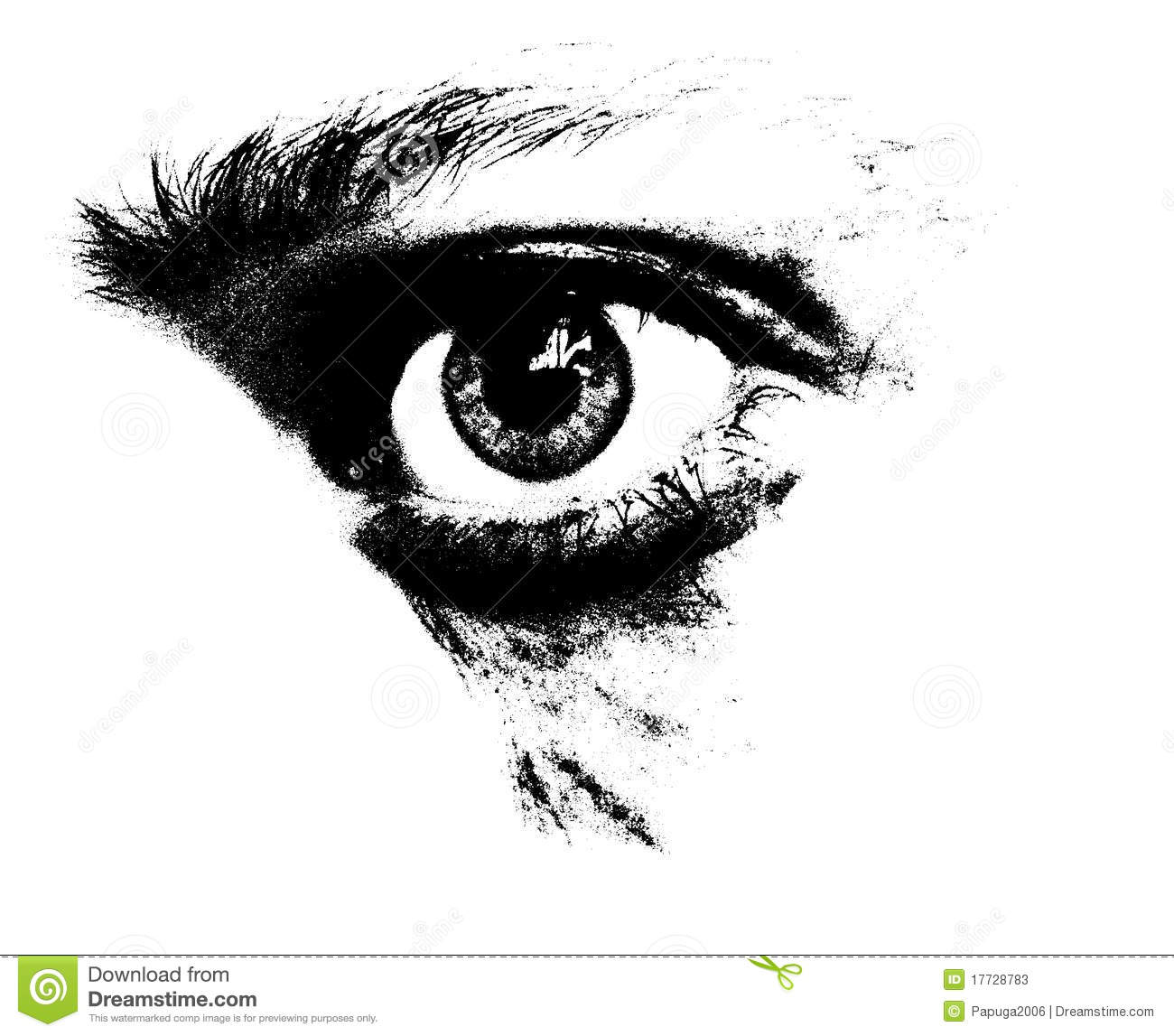 Regard Triste Illustration Stock Illustration Du Artistique