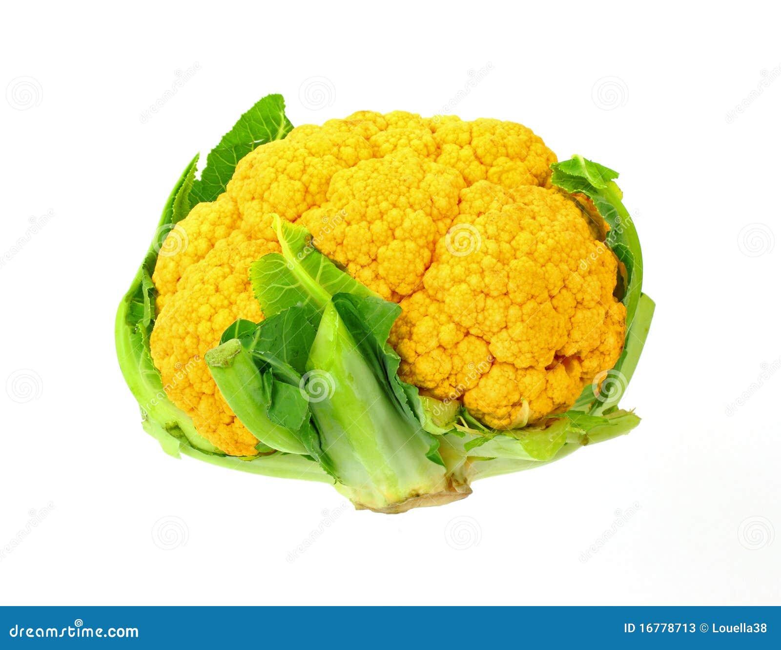 Regard Vers Le Bas Sur Le Chou Fleur Orange Image Stock Image Du