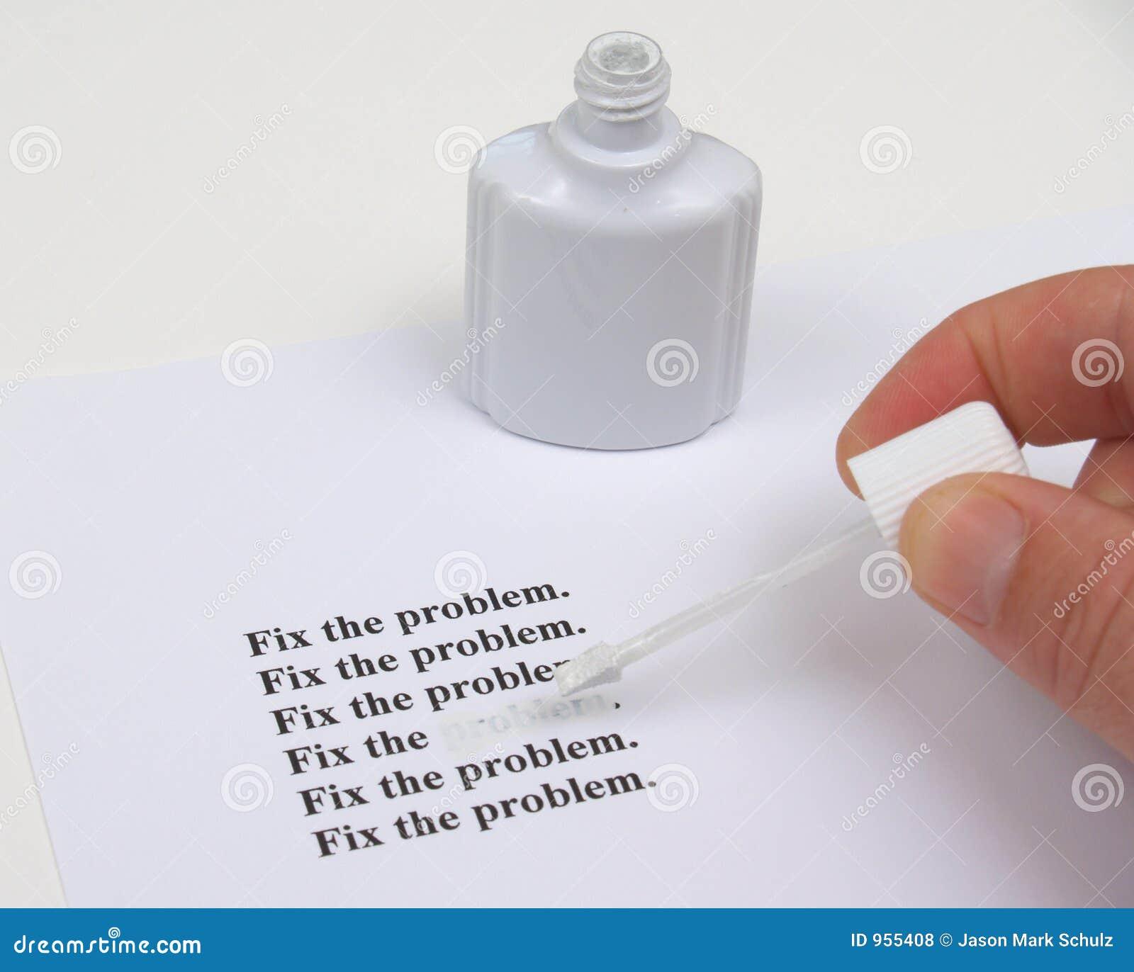 Regeln Sie das Problem