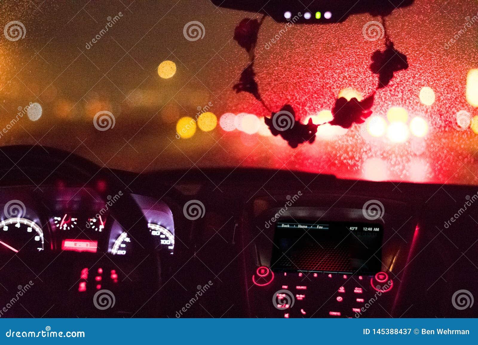 Regenachtig Windscherm en Dashboard