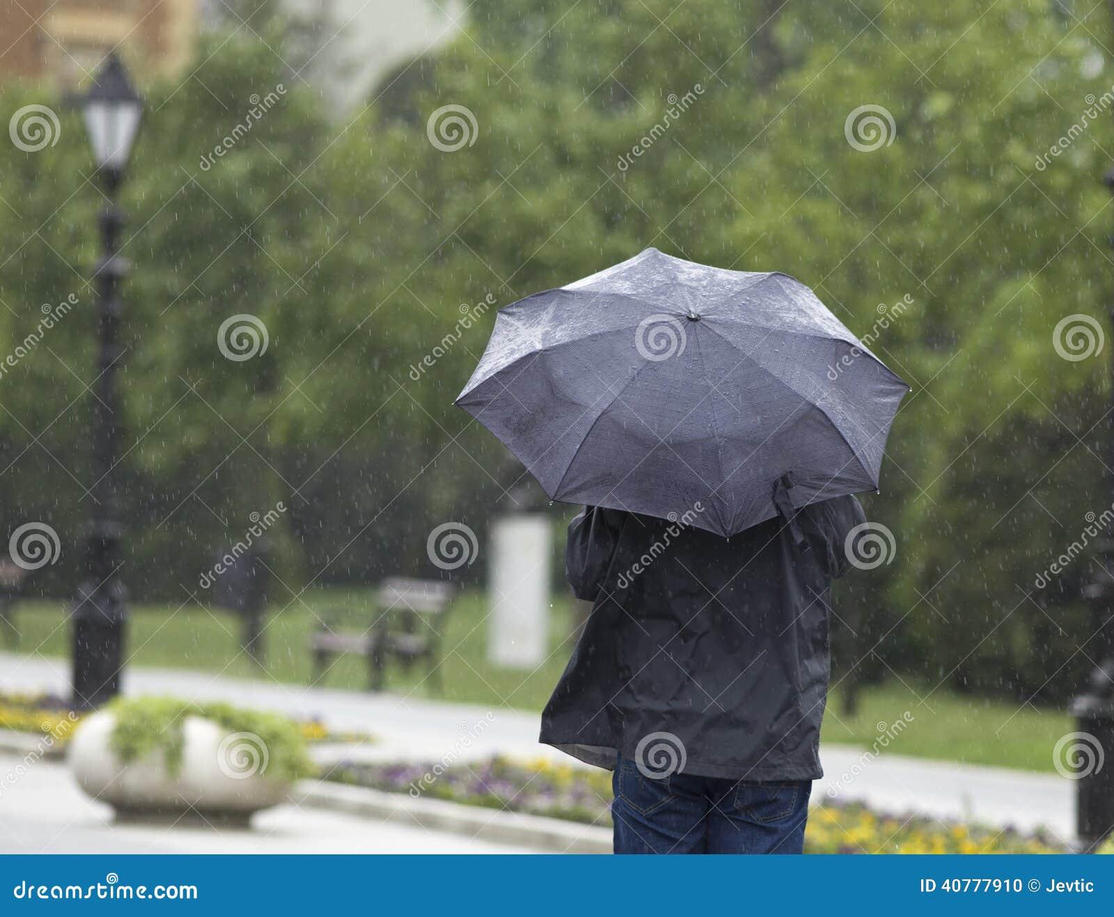 Regenachtige dag