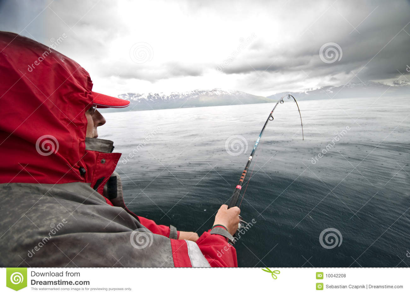 Regenachtige visserij