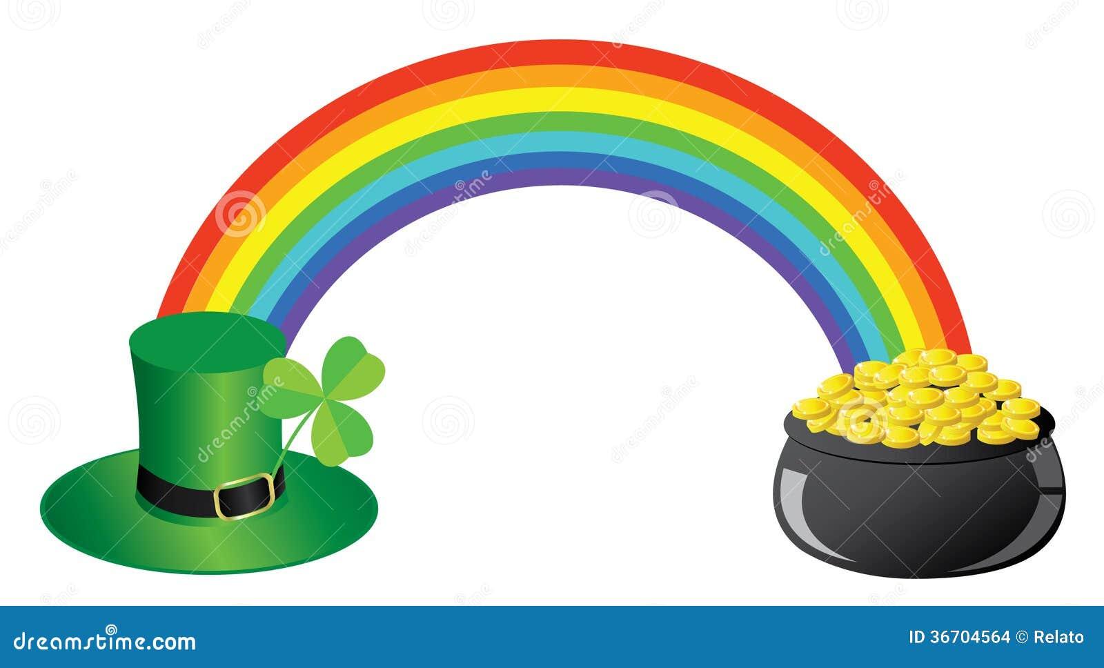 regenbogen goldtopf