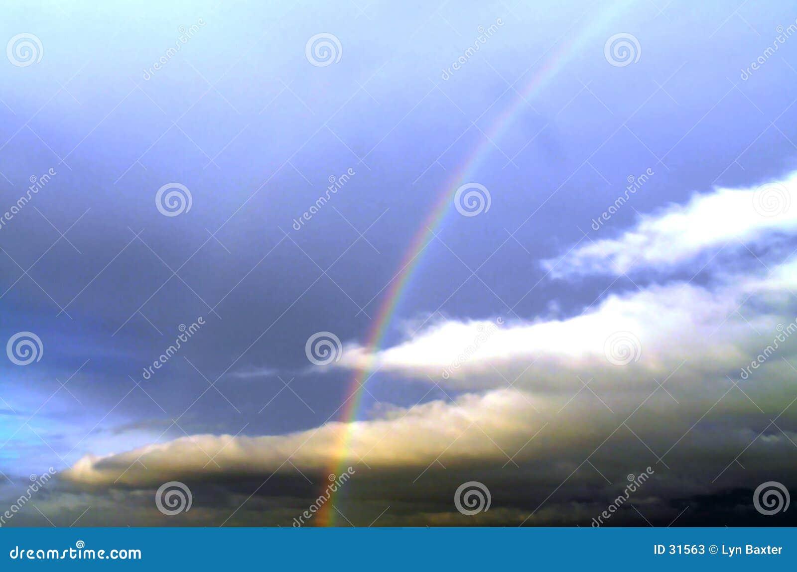 Regenbogen-Himmel