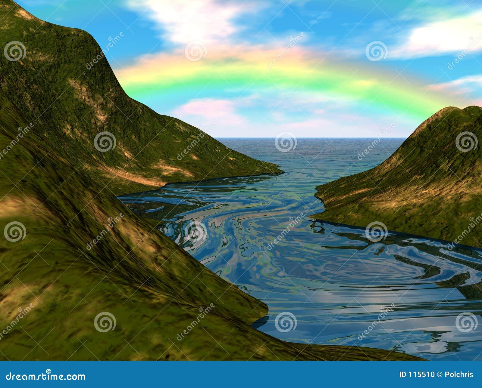 Regenbogen-Insel