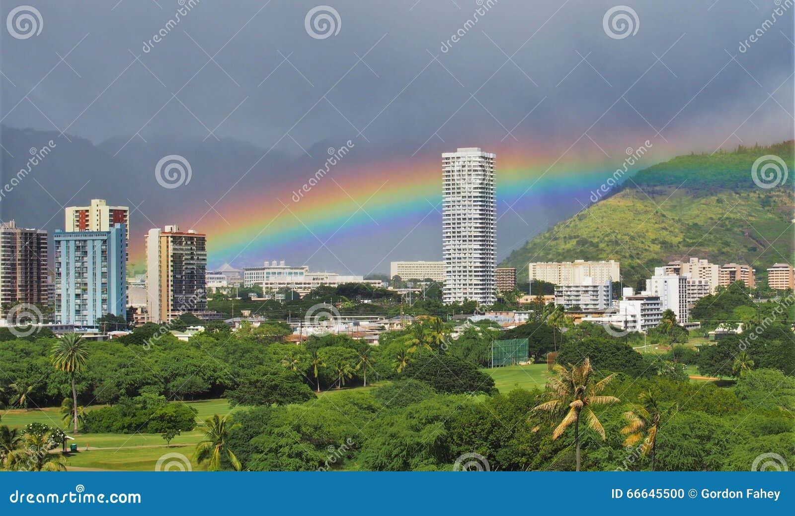 Regenbogen Ost-Honolulu
