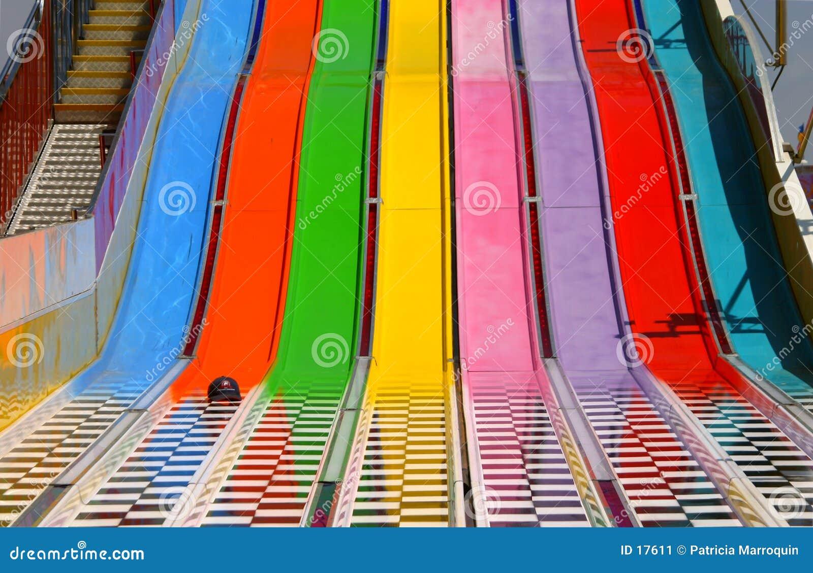 Regenbogen-Seitentrieb
