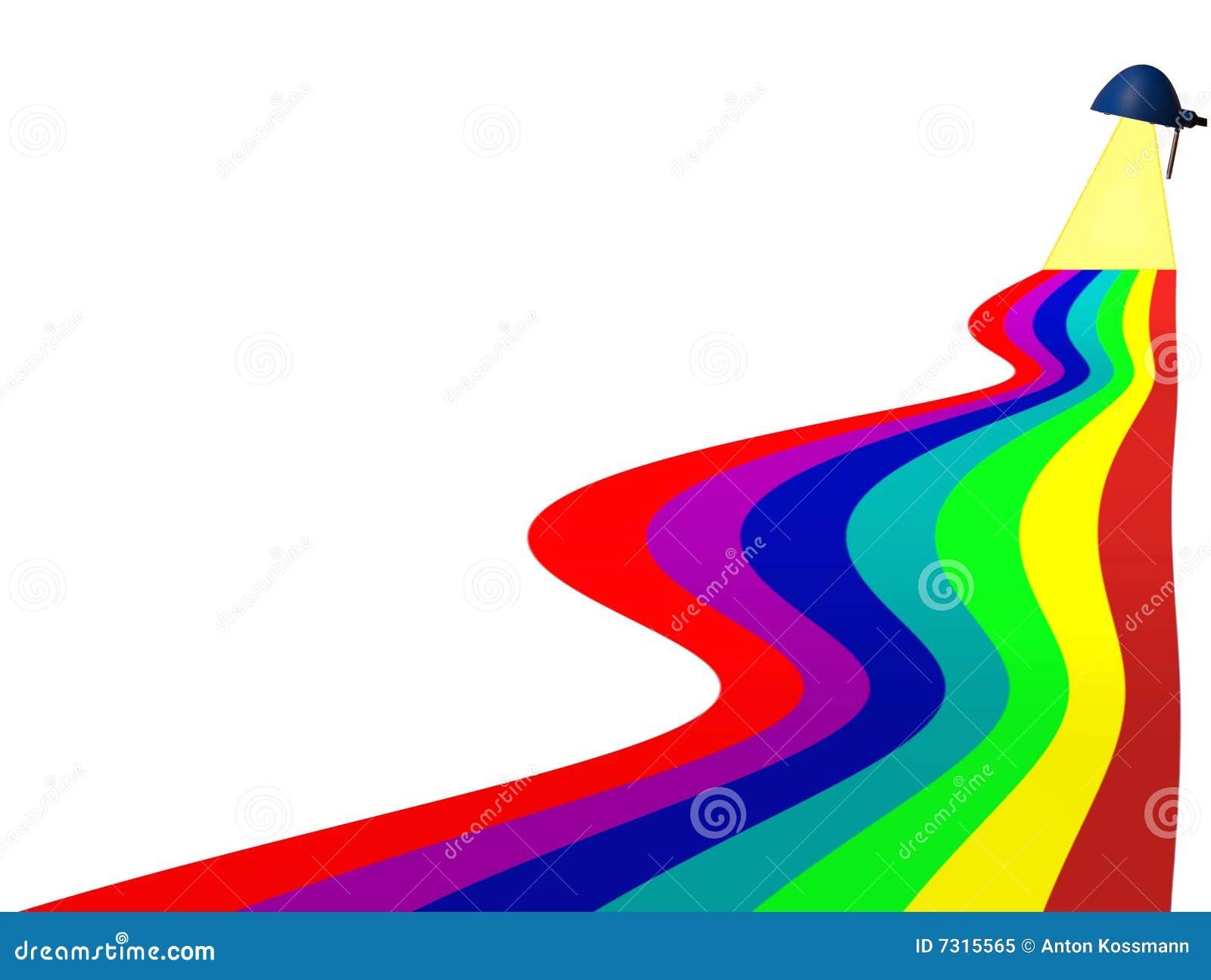Regenbogen von Farben