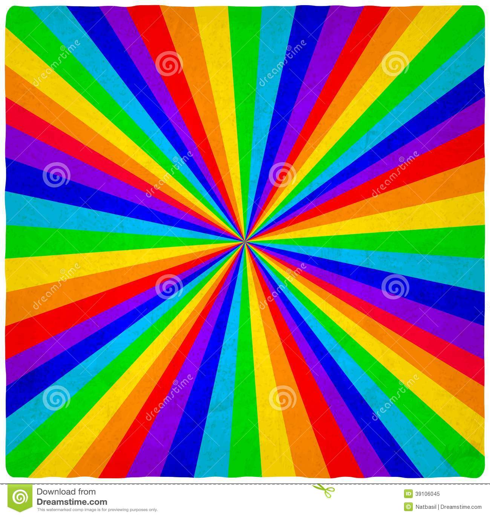 Regenboog oude achtergrond