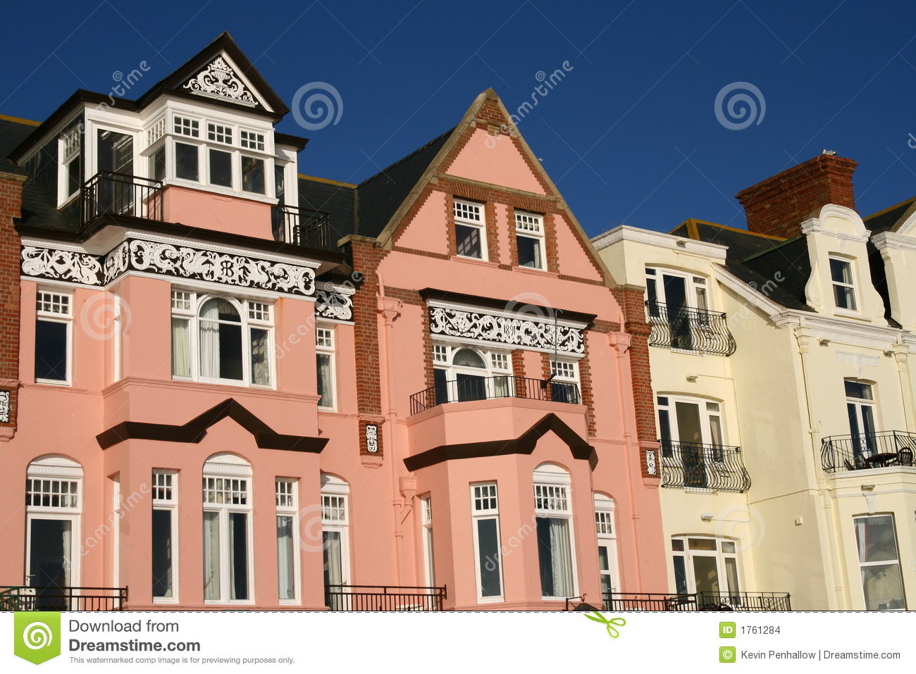 Regency Houses Stock Images Image 1761284