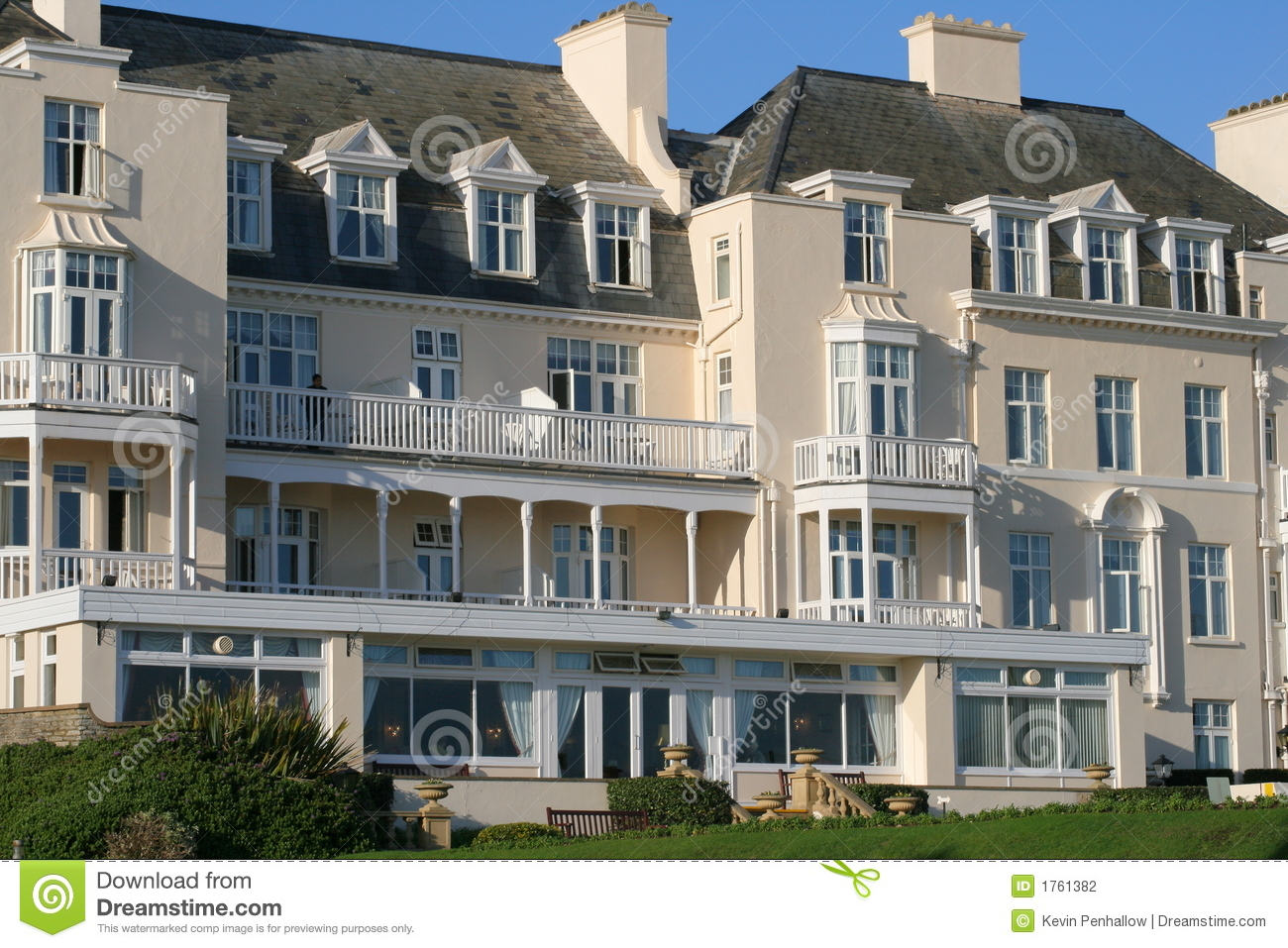 Regency Style House Stock Photography Image 1761382