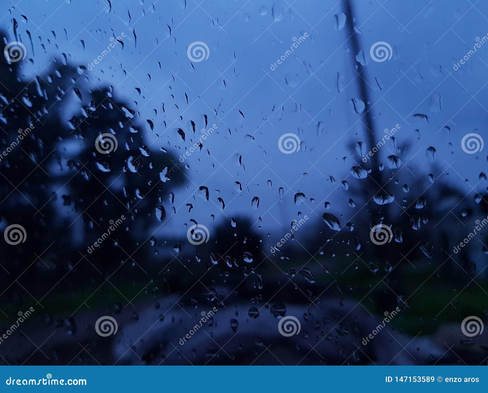 Regenende dag