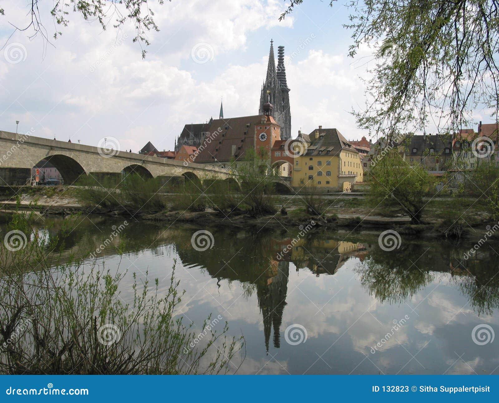 Regensburg german odbicia
