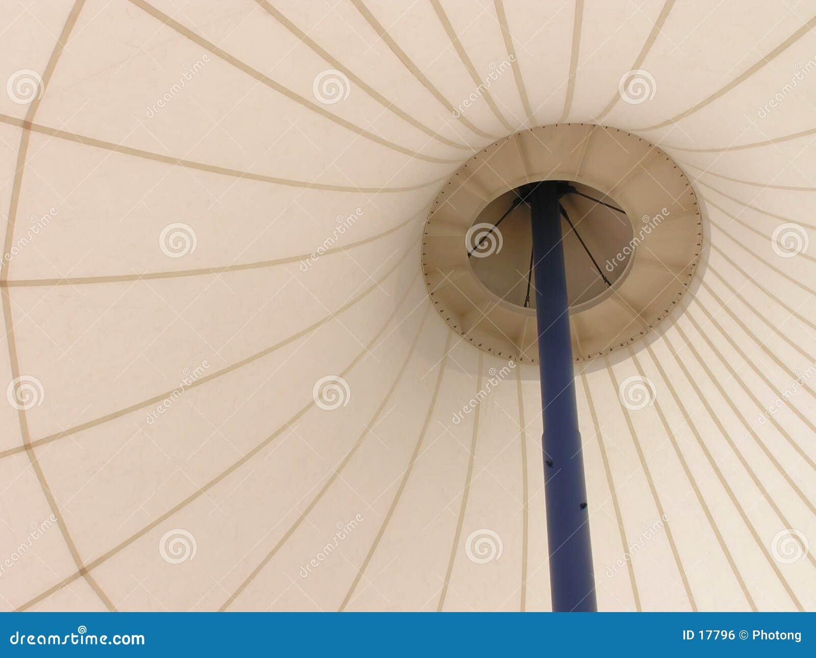 Regenschirm-wie abstraktes Muster