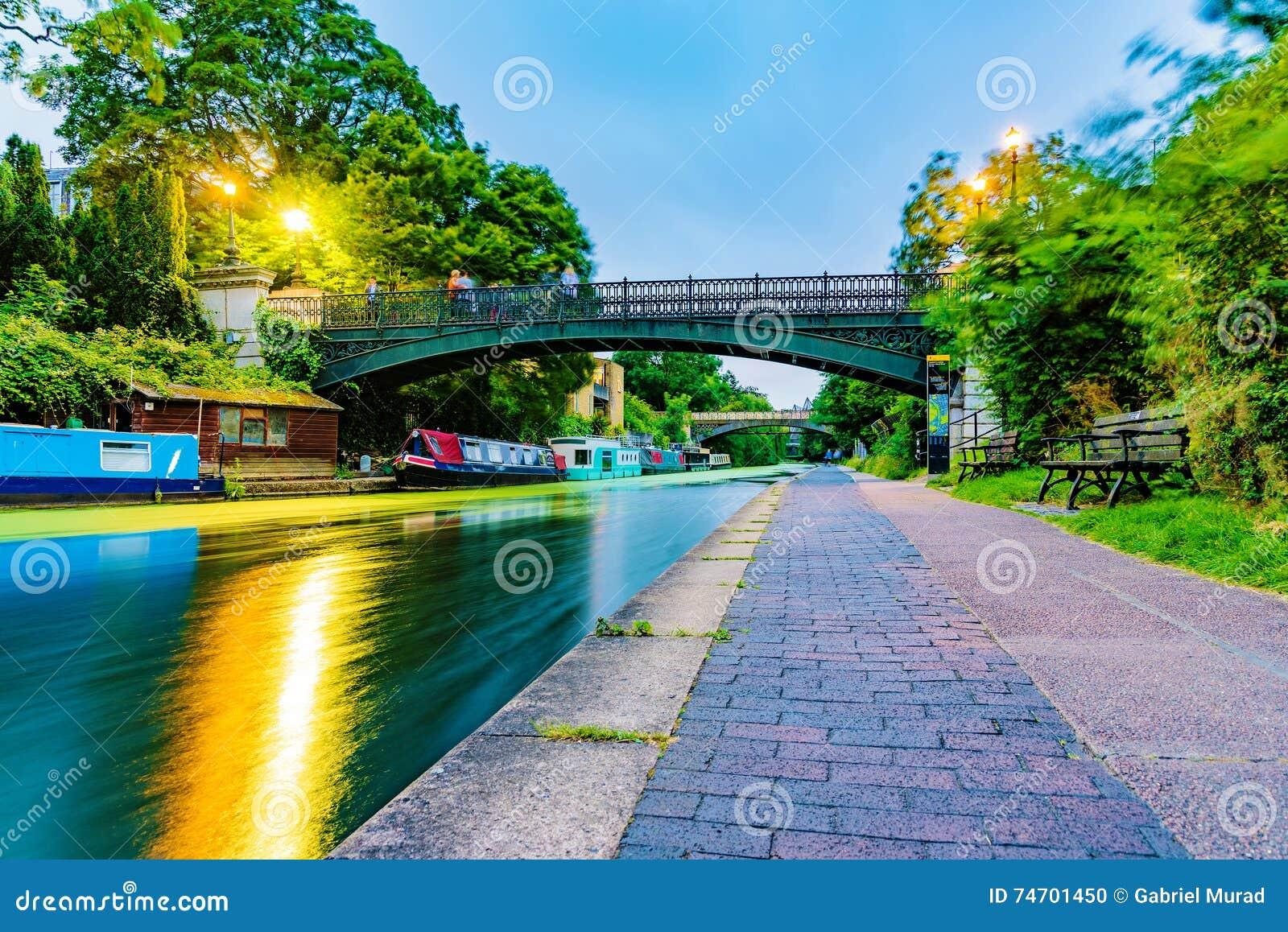 Regents park canal