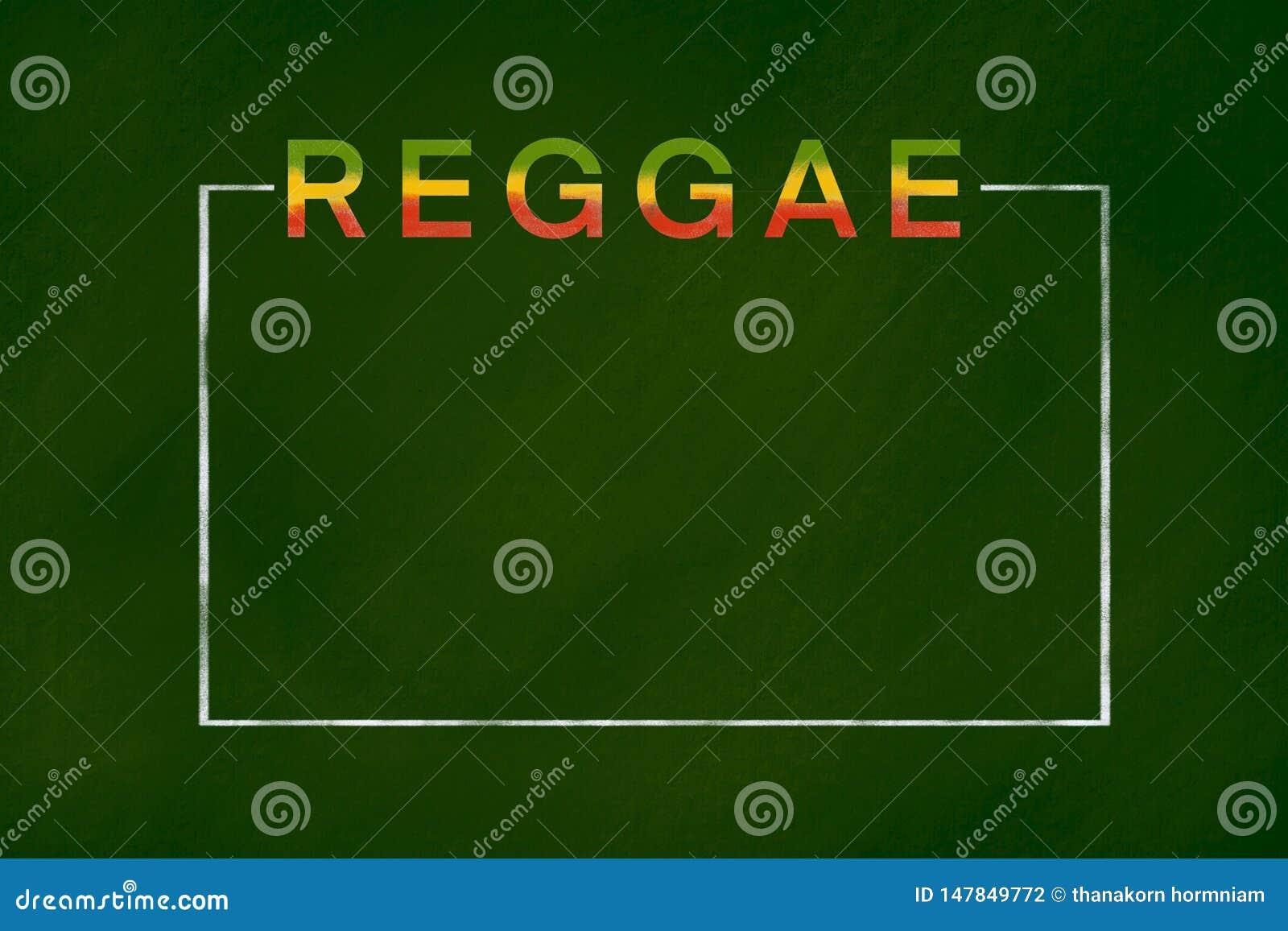 Reggae-Hintergrund