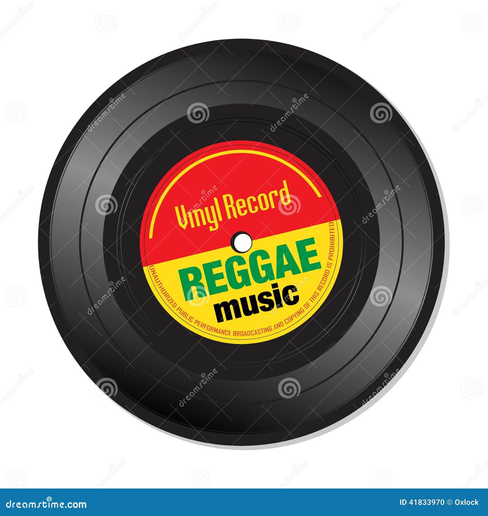 Reggae Music Vinyl Record Stock Vector Image Of Artwork