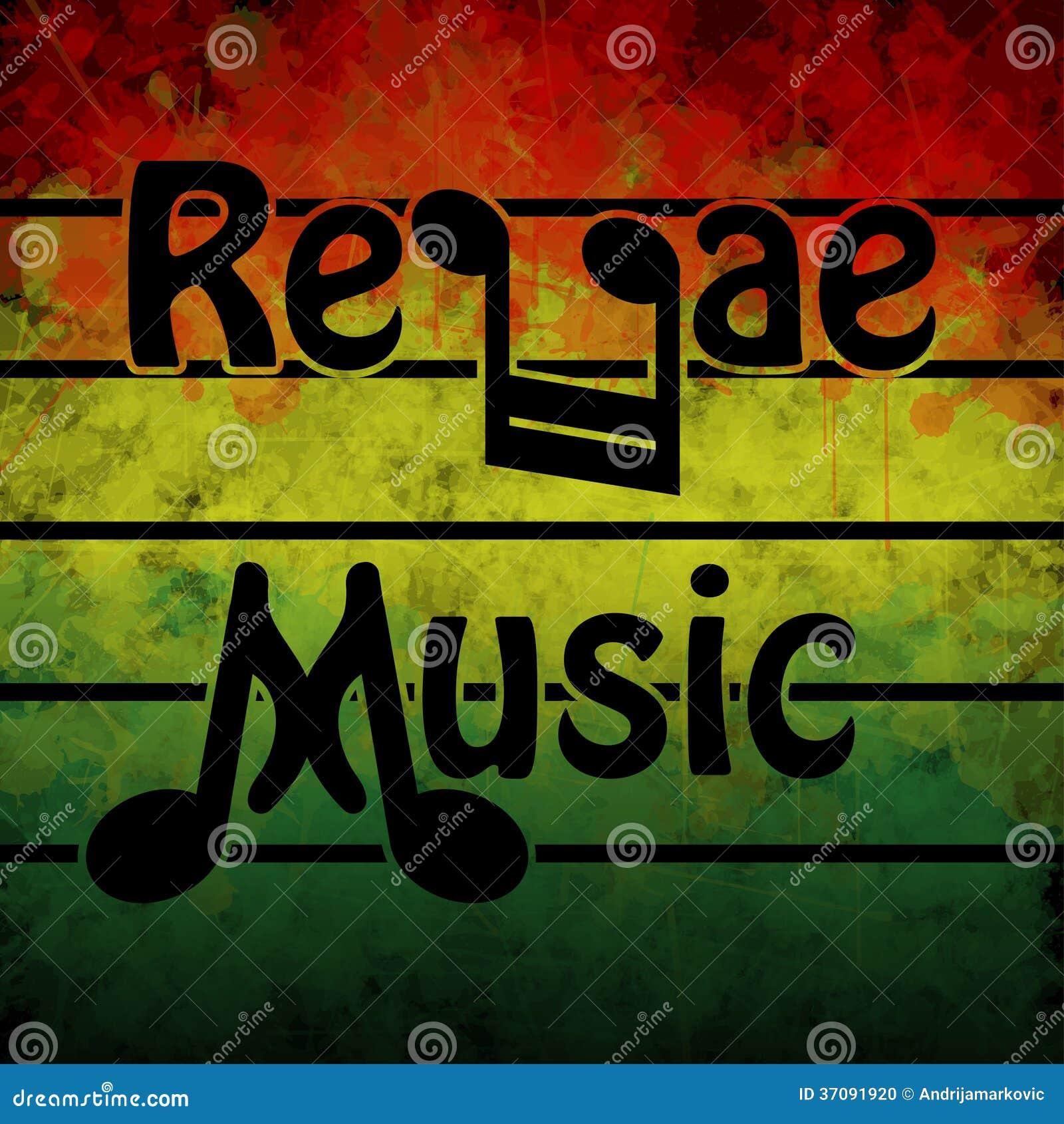 Download Reggae muzyka ilustracji. Ilustracja złożonej z melodie - 37091920
