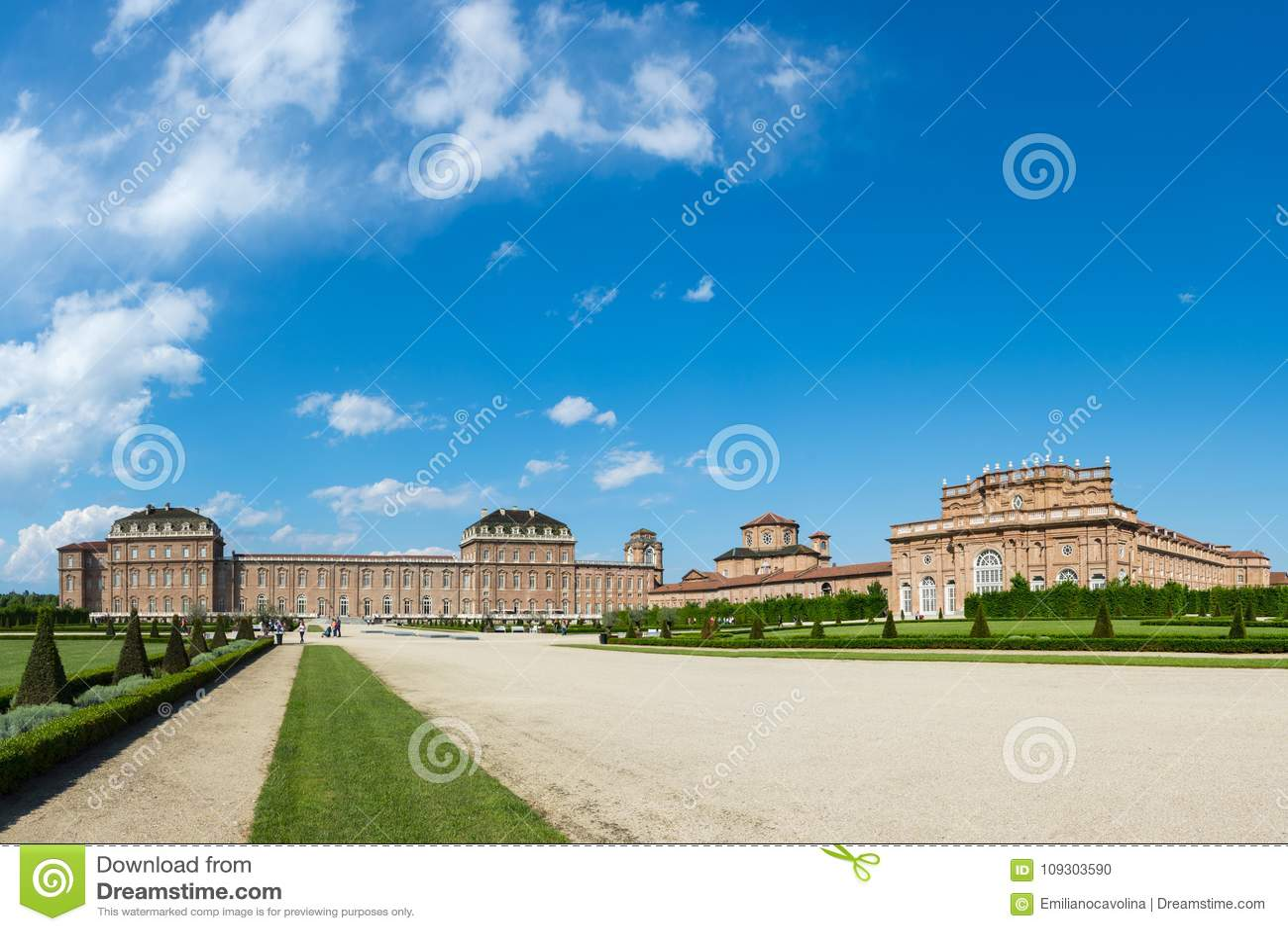 Reggia di Venaria Reale, ancienne résidence royale de la famille de la Savoie, Venaria