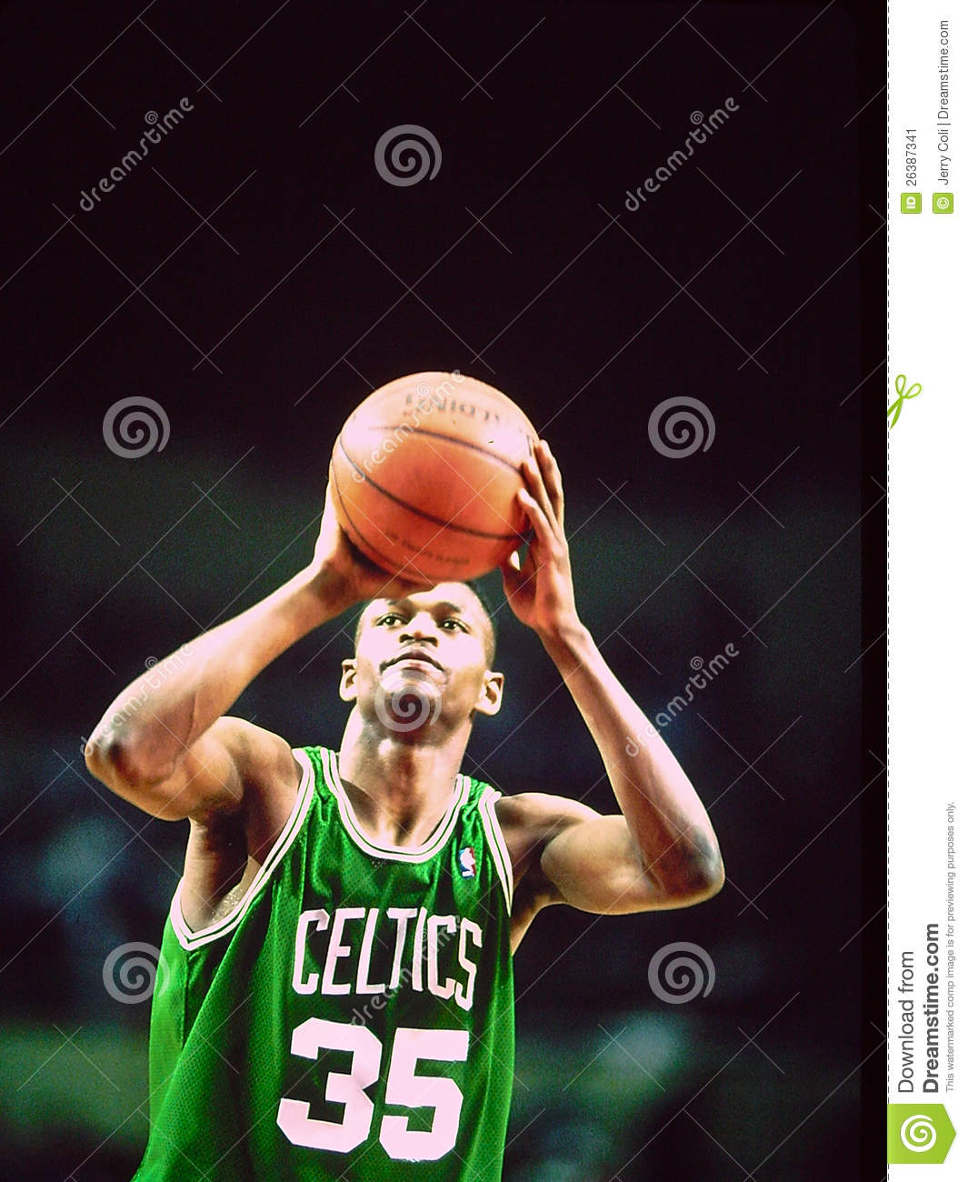 Reggie Lewis Boston Celtics Editorial Image