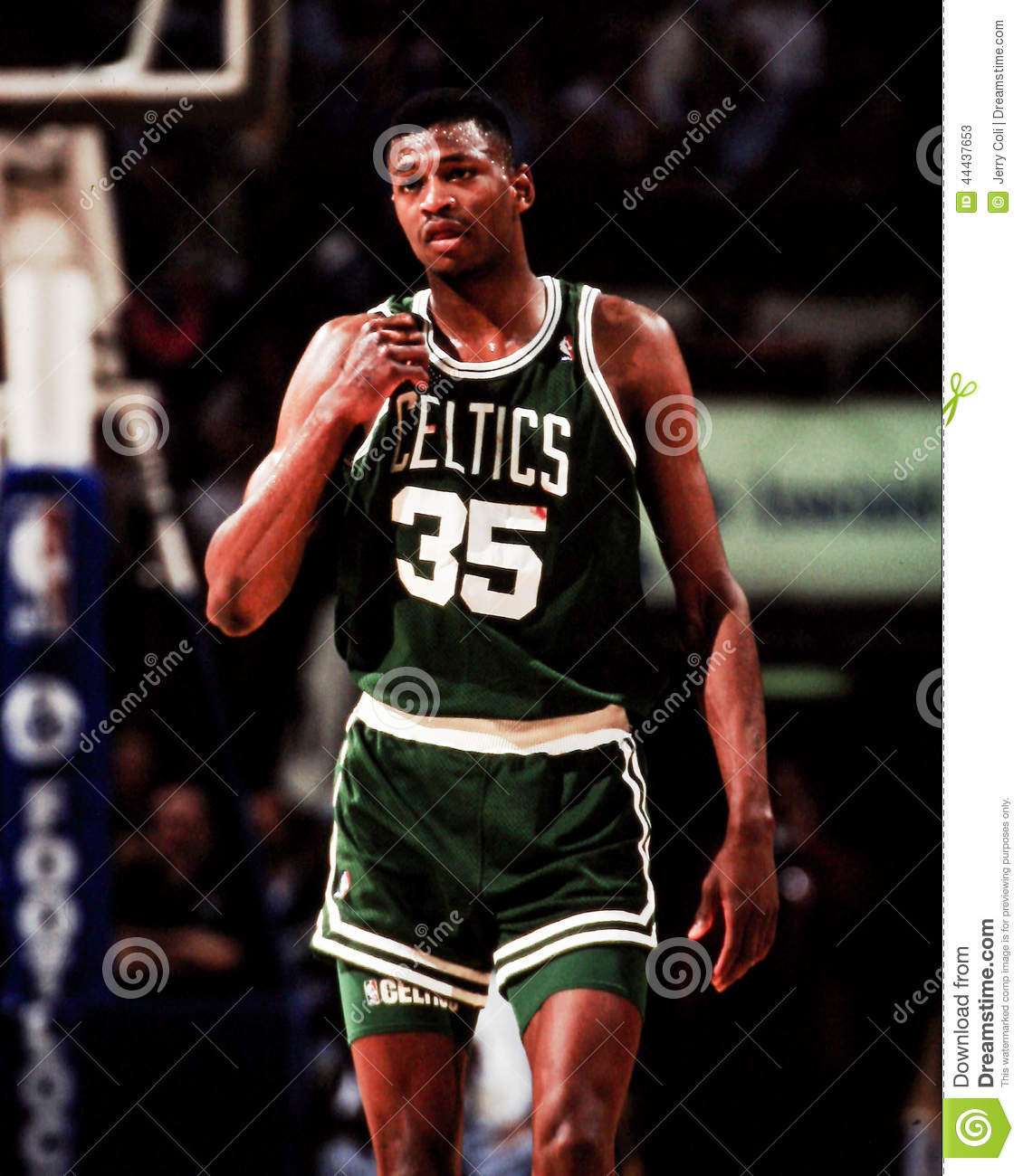 Reggie Lewis Boston Celtics Editorial Stock Image