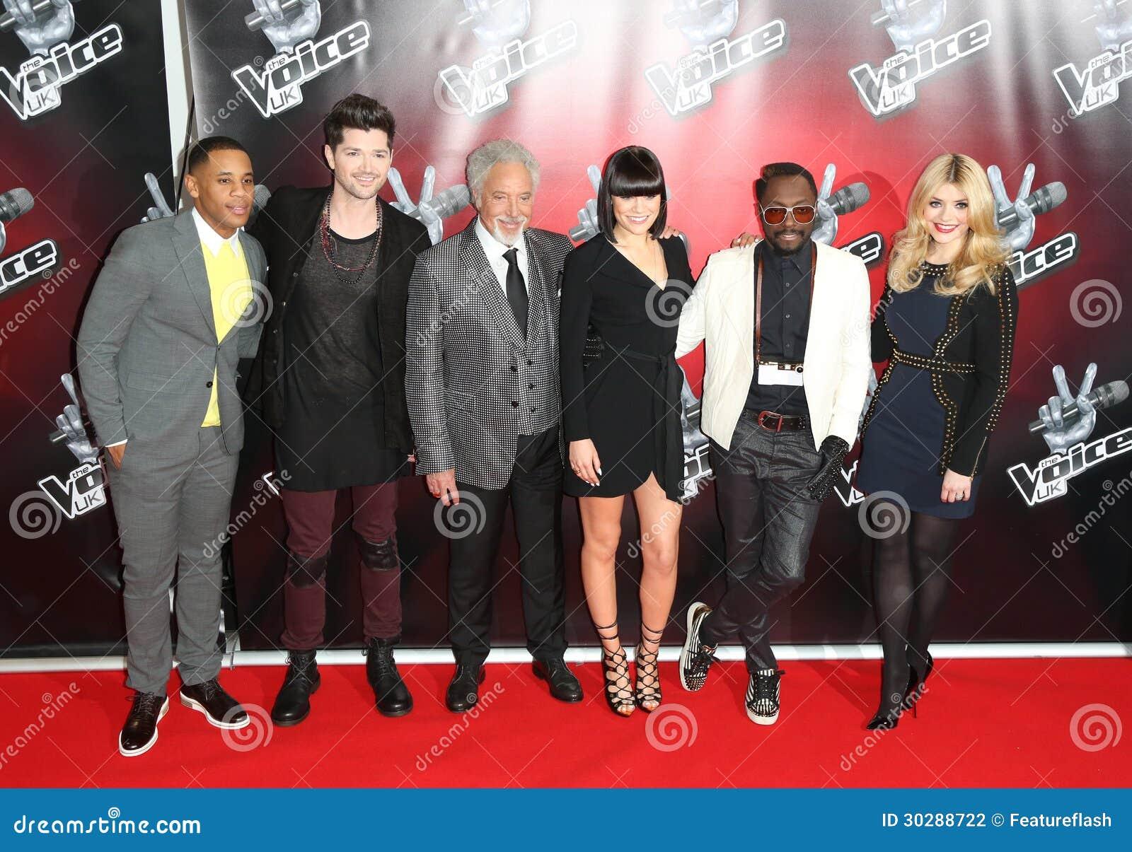 Reggie Yates,Danny O,Holly Willoughby,Jessie J,Jessie J ,Tom