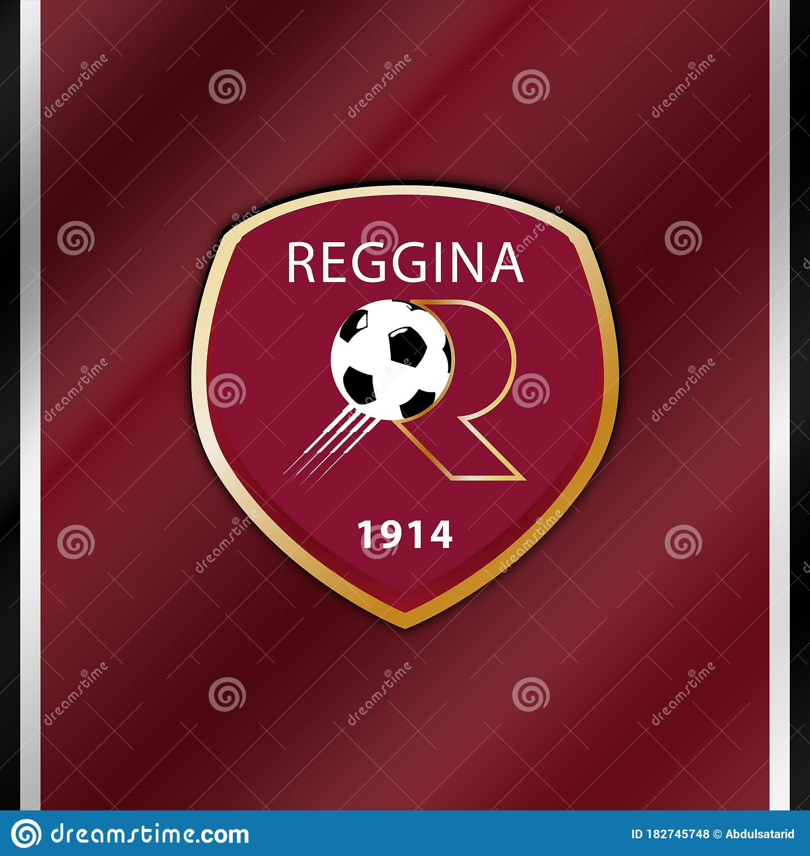 Reggina Emblem Editorial Stock Photo Illustration Of Arms 182745748