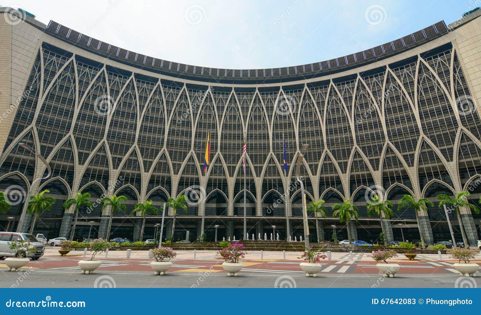 Regierungsgebäude in Putrajaya, Malaysia